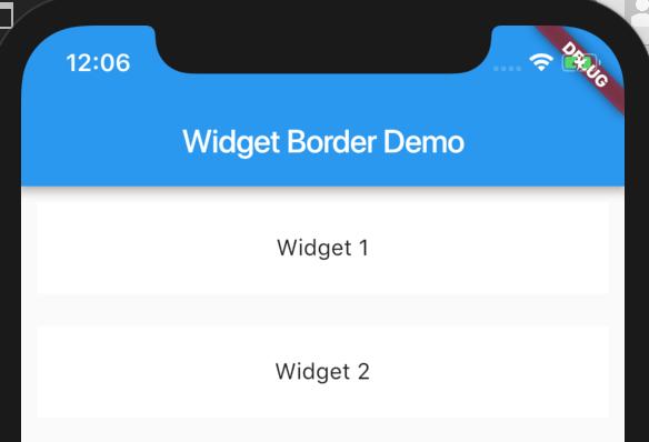 Widget 1 & Widget 2