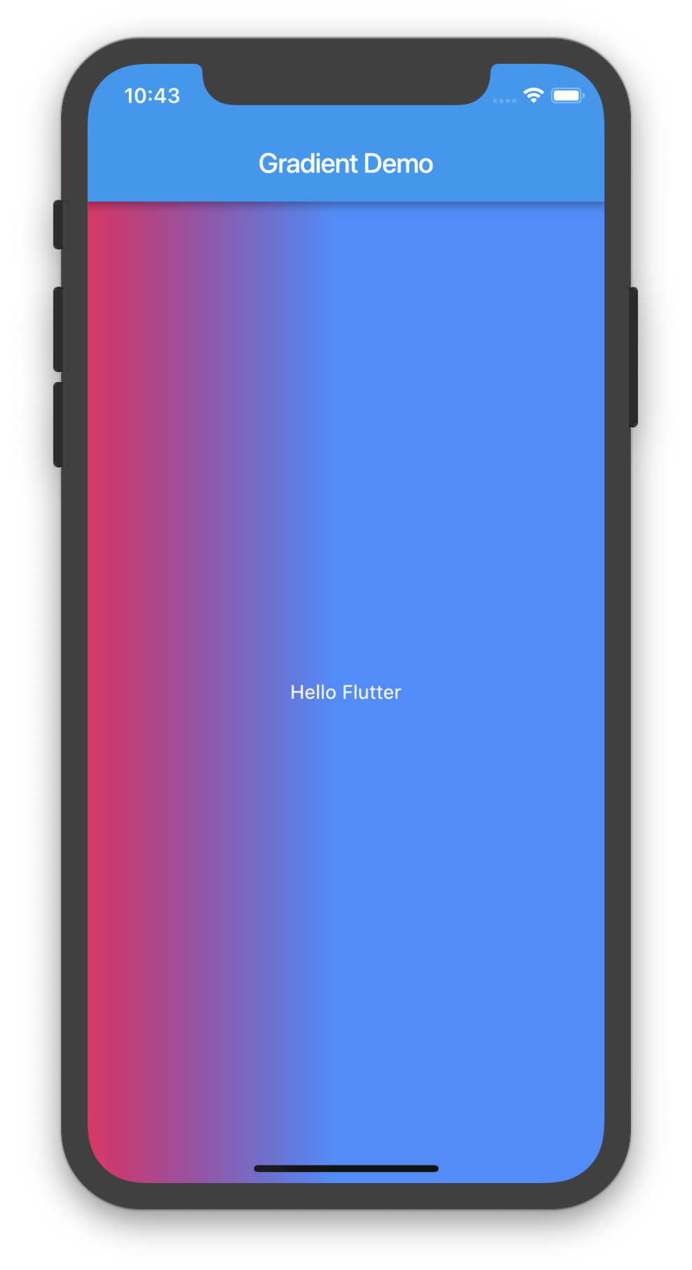 Flutter Gradient Demo