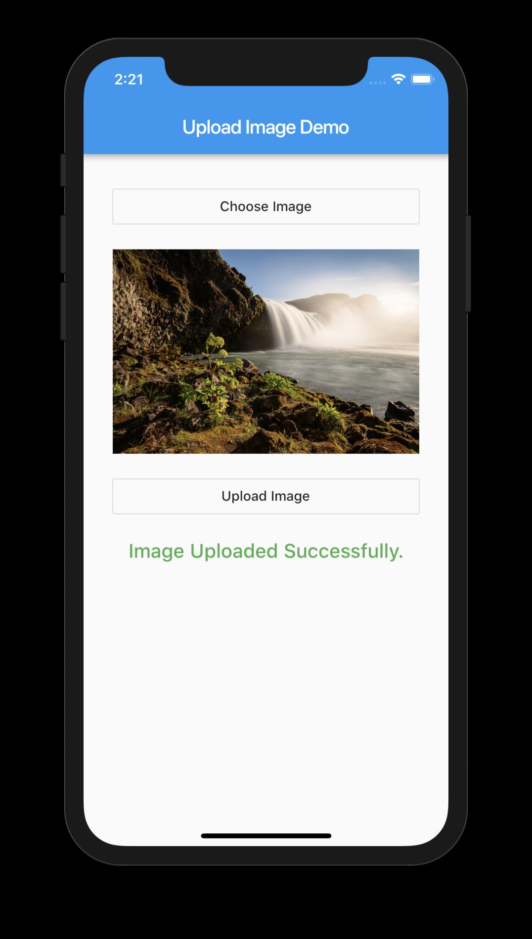 Upload Image Flutter