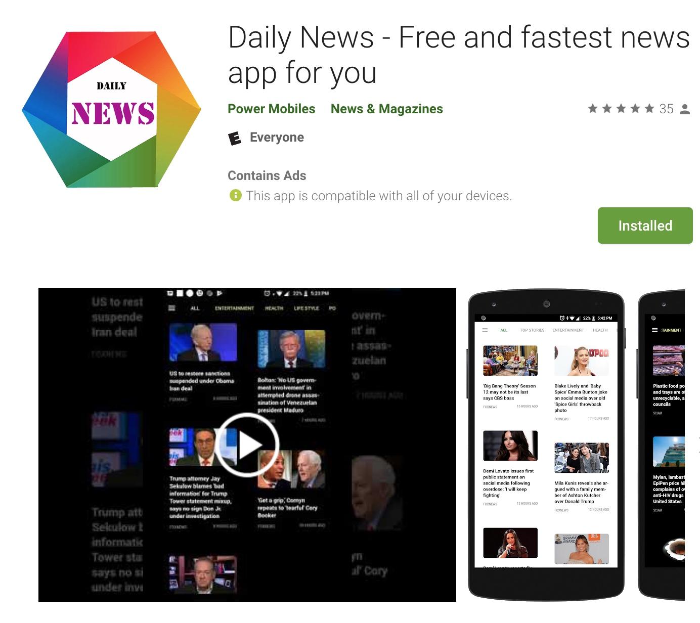 Daily News - Free App